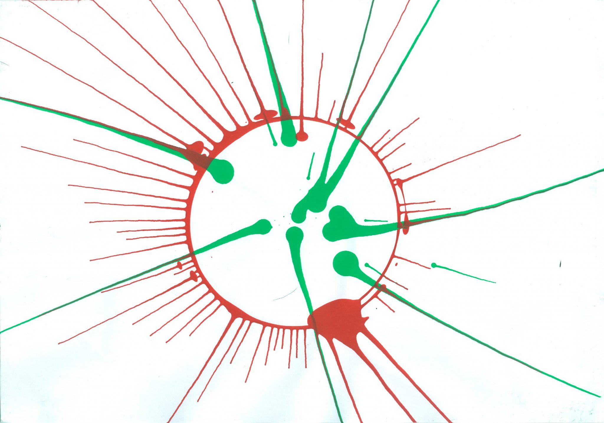 PinturaAleatoria AD2 - A Arte de Zimaldo Bactéria