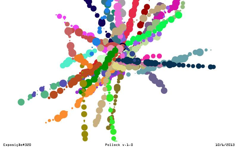 pollock 3201 - A Arte de Zimaldo Bactéria