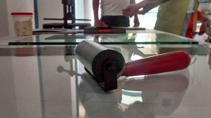 image38 - Oficina de gravura com alunos da CAPS – Cachoeira