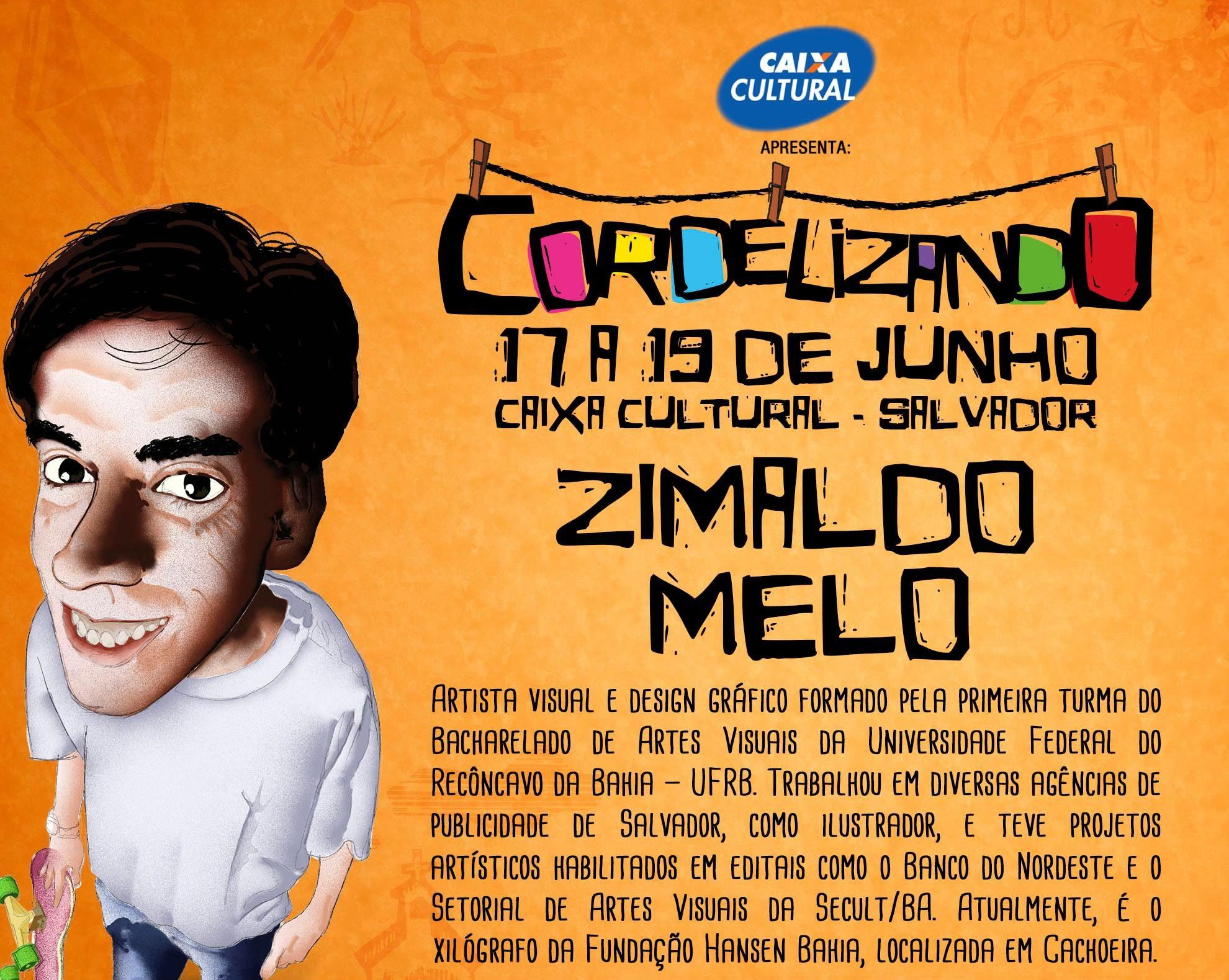 Cordelizando Zimaldo e1514229696519 - Projeto da Caixa Cultural une arte e poesia