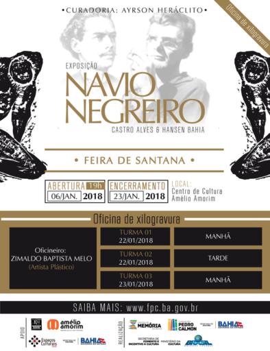 ONavioNegreiro CARDS13 394x512 - Oficinas de Gravura da Exposição <br />Navio Negreiro